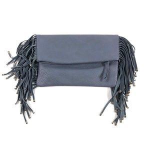 Shiraleah Chicago Anthropologie Fold Fringe Bag